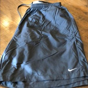 Nike swim suit men's XL elastic waist